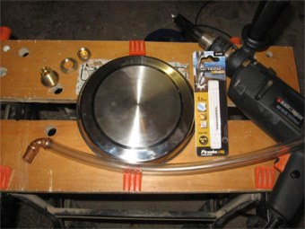 parts to make mash tun false bottom